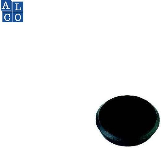 Magnet 24mm 10er schwarz