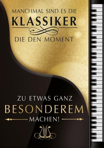 """Great Cards """"Piano - Klassiker"""" - zu etwas ganz Besonderem machen, mit Musik"""