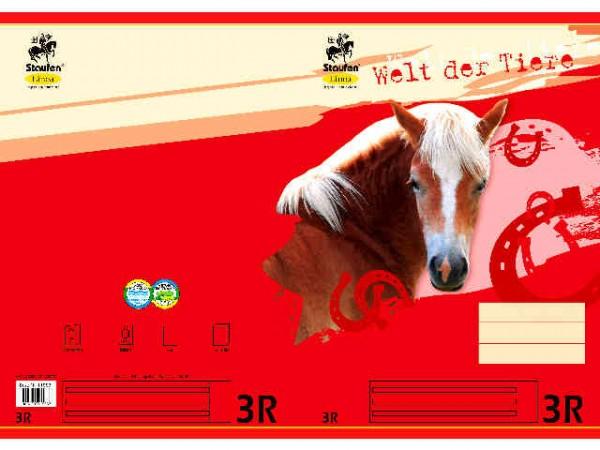 Heft A4-16 Lin 3 mit Rand