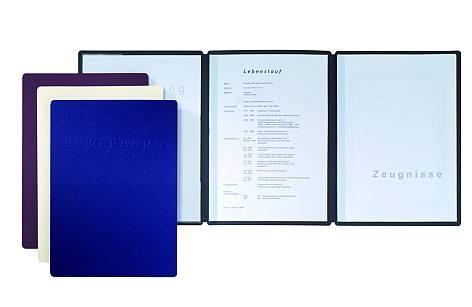 Bewerbungsmappe Premium Edition 3-teilige Mappe