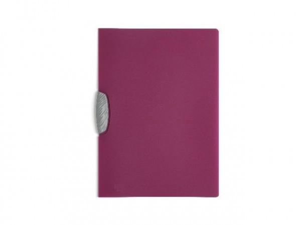 Klemm-Mappe Swingclip A4 30Bl transluzent lila