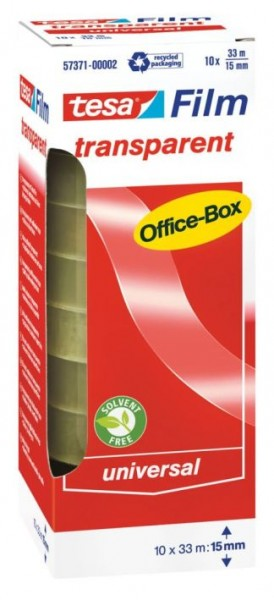 Tesa-transparent 33mx15mm in Office Box 57371-2-0