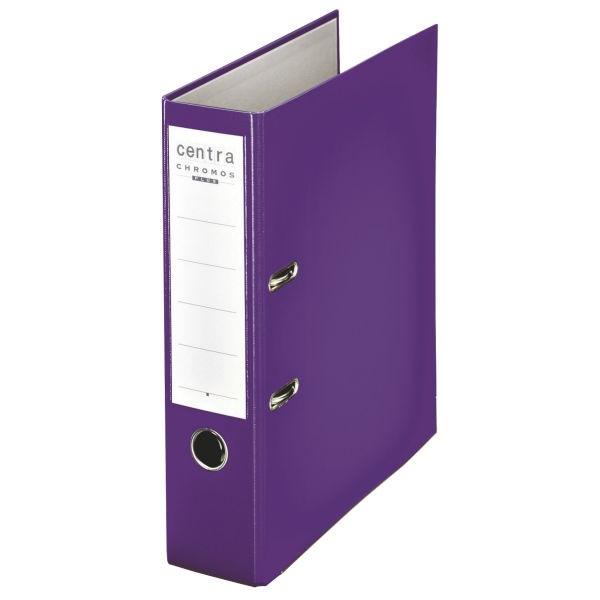 Centra® Plastik Ordner A4, 80mm, Einband mit PP-Folie, violett 230140