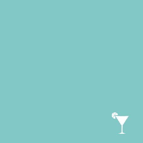 Serviette 25x25cm 3-lagig Cocktail Avantgarde