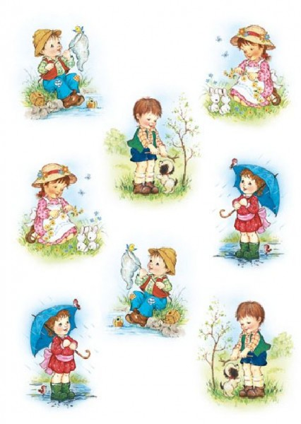 Sticker Decor Kinder