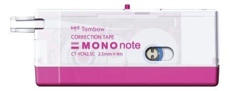 Korrekturroller Mono Note 4mx2,5mm Einweg pink