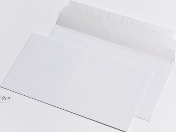 Briefumschlag mit Falte DL+ HK 10mm-Falte 500er-