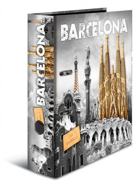 Herma Ordner - Trendmetropolen, Motivordner, A4, 70mm, Motiv Barcelona