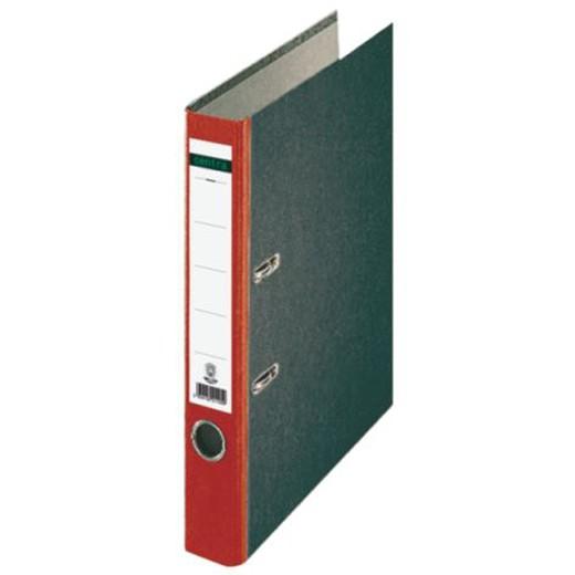 Centra® Standard Ordner 50mm mit Farbigem Rücken, Rot