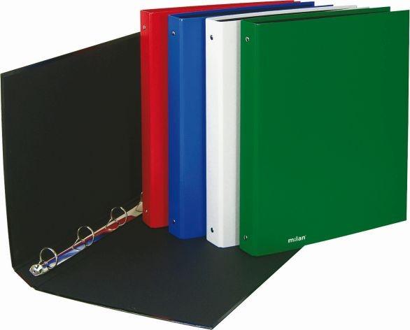 Milan Ringbuch A4 4Ring Reißmechanik grün