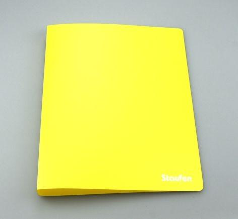 Ringbuch PP A4 2Ring 17mm Opak gelb 94715