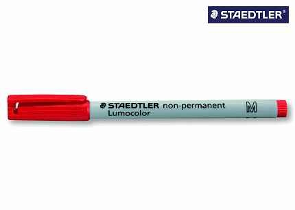 Lumocolor Folienschreiber mittel rot Wl 3152