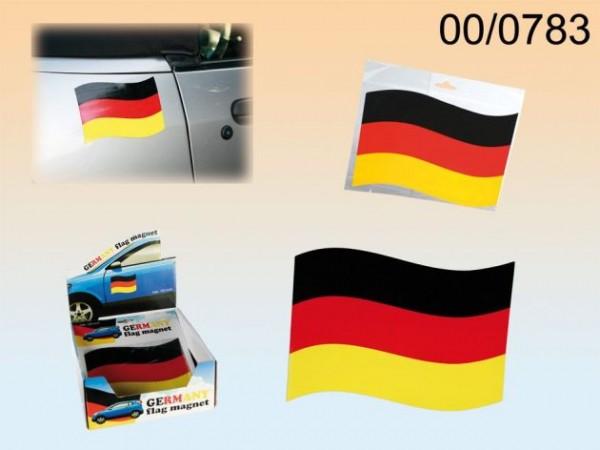 Automagnet Deutschland- flagge schwarz rot gelb