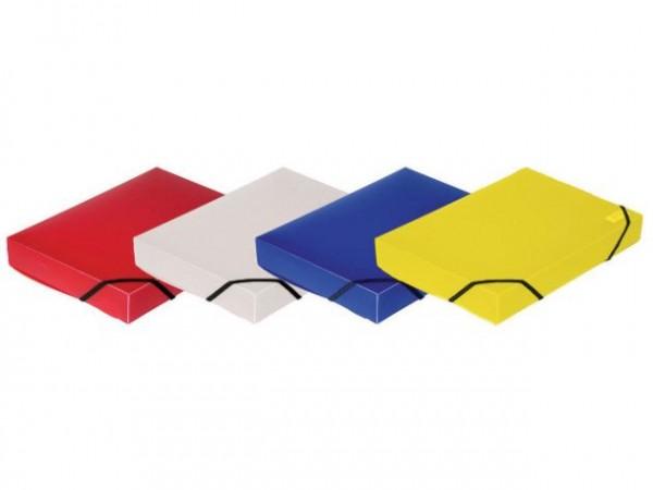 Heftbox PP A4 32mm Opak robust Classic Farben
