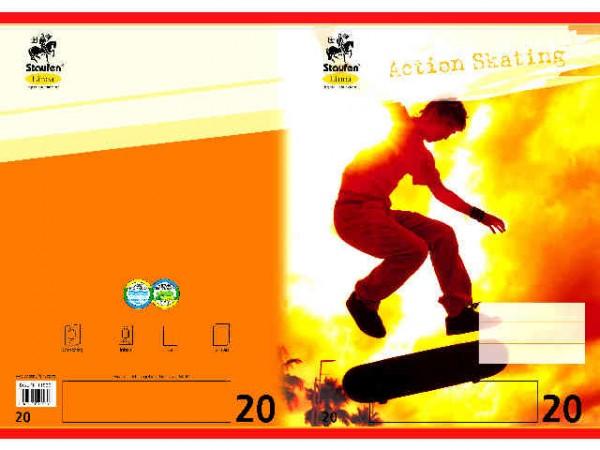Heft A4-16 Lin 20 blanko