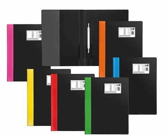 Milan Heftbox A4 PP-Folie farbwahl sortiert