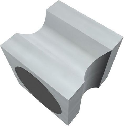 Magnet Neodym Stempel 20x20x20mm aluminium
