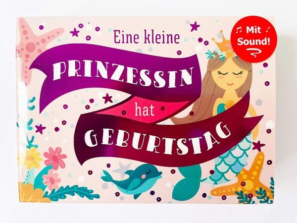 Musikbox, Geschenkebox mit Musik, Prinzessin hat Geburtstag