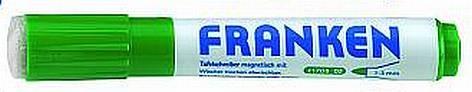 Boardmarker mit Schwamm Grün Z170802 Franken