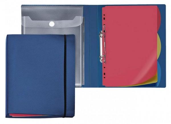 Ringbuch Arbeitsmappe A4 PP Diamond 20mm blau