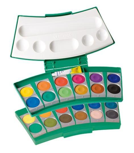 Farbkasten 24Er Pro Color grün