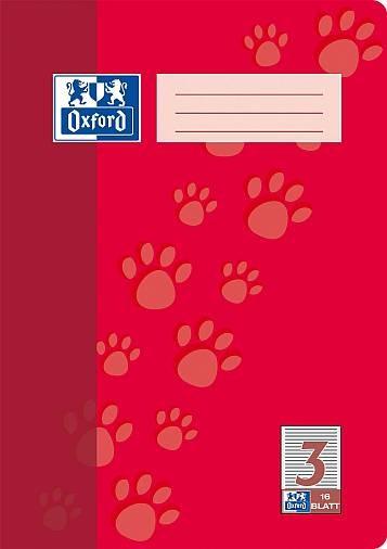 Oxford Heft A4 16Blatt Lin 3