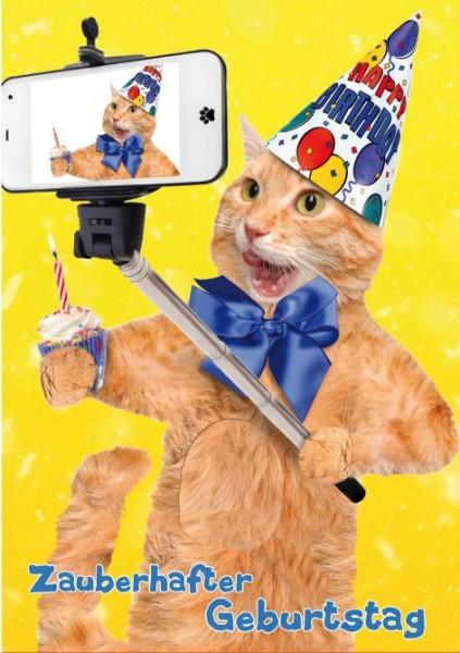 Touch Grußkarte, Geburtstagskarte, Musik auf Berührung-Zauberhafter Geburtstag