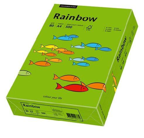 Kopierpapier Sky Rainbow A4 80g 500Bl intensivgrün