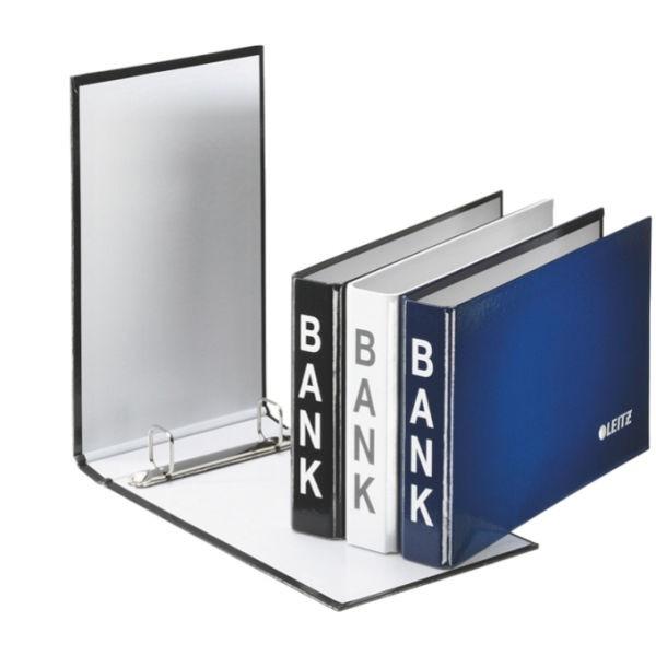 Bank-Ordner Leitz 2X Weiss Blau Schwarz