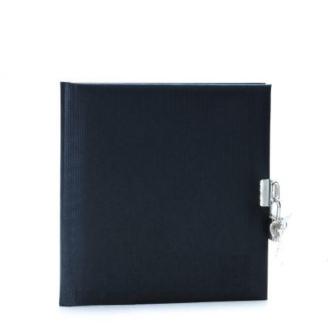Tagebuch mit Schloss Seda schwarz Kunstdruck