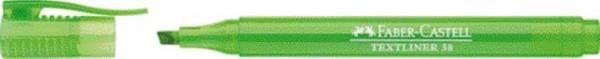 Textmarker Stiftform Textliner 38 leuchtgrün