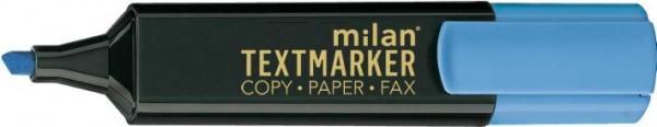 Milan Textmarker Leuchtblau 35051