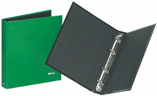 Milan Ringbuch A5 4Ring Standardfarben sortiert