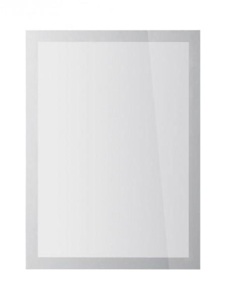 Präsentation-Magnetrahmen A4 silber Duraframe