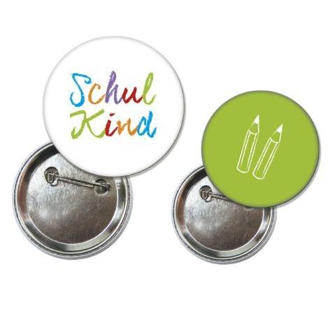 Button Set 7-teilig Schulkind