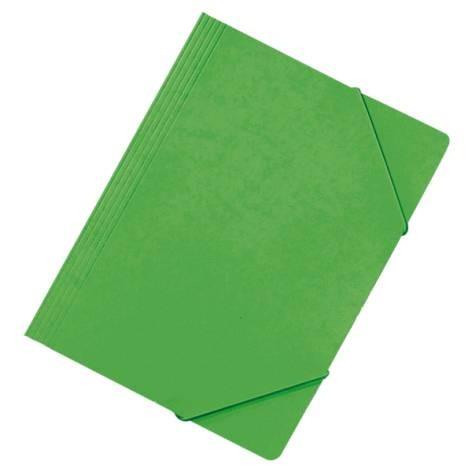 Eckspanner, A4, Primärkarton, grün