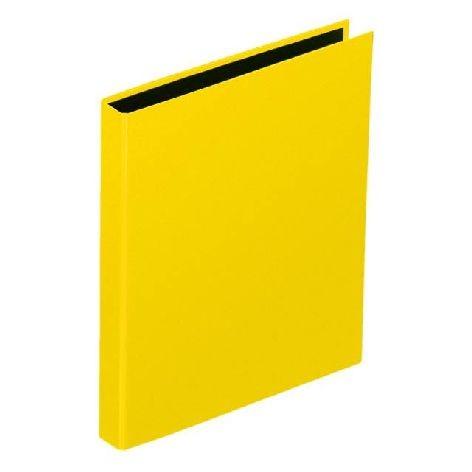 Ringbuch A4 2Bügel 20mm mit Niederhalter gelb