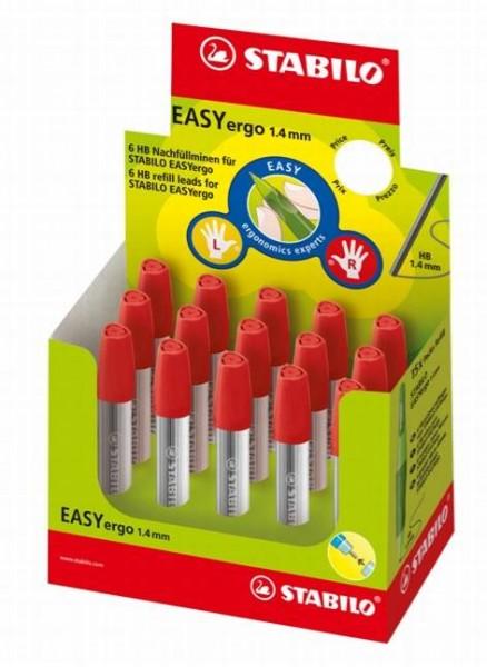 Stabilo EasyErgo Nachfüllminen, Bleistift-Minen 1,4 HB