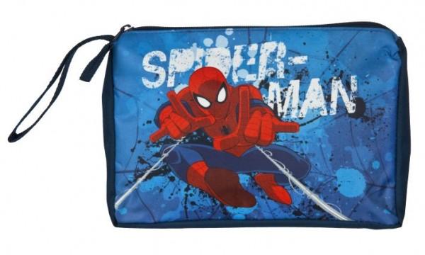 Kulturtasche Polyester Spiderman 17x23x5cm