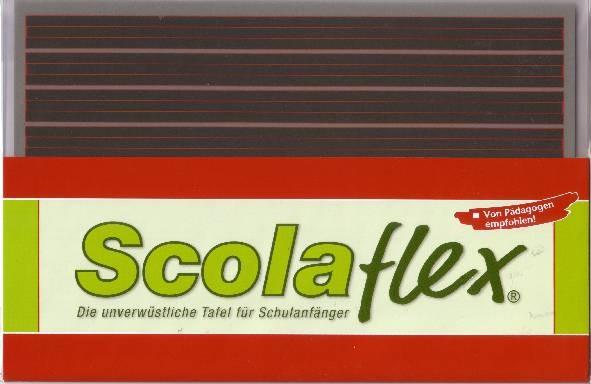 Scolaflex-Tafel L1 A 1. Schuljahr - 9 Systeme