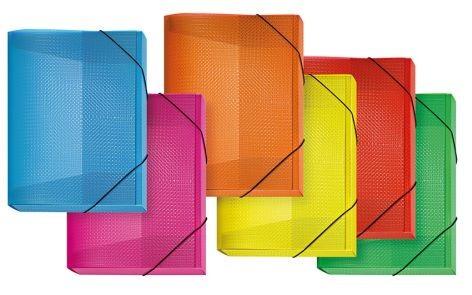 Heftbox VELOCOLOR® PP, PP, A4, sortiert