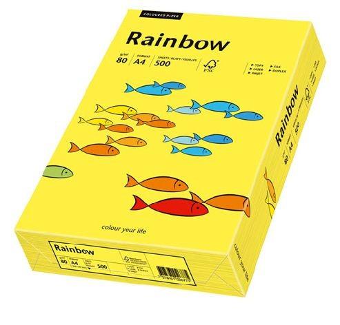 Kopierpapier Sky Rainbow A4 80g 500Bl mittelgelb