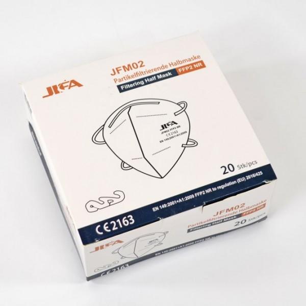 20er Pack FFP2 Mundschutzmaske, Atemschutzmaske, CE-Zertifiziert