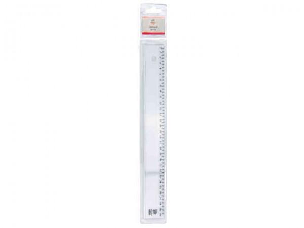 Kunststoff Lineal 30cm Blisterpackung Lineal Lineale Zirkel
