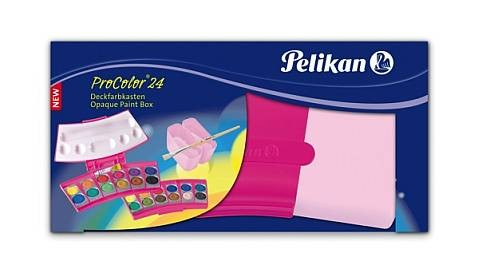 Farbkasten 24Er Pro Color Pink Pelikan