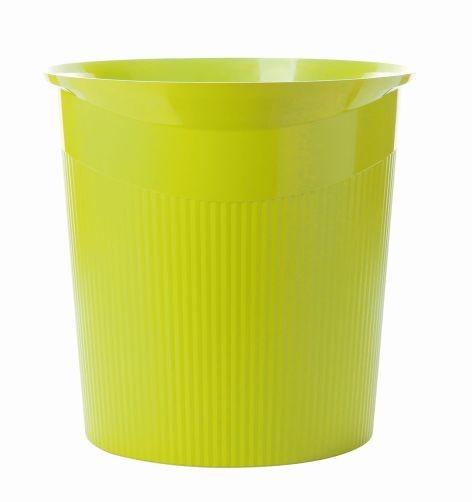 Papierkorb 13L LOOP Trend Colour lemon