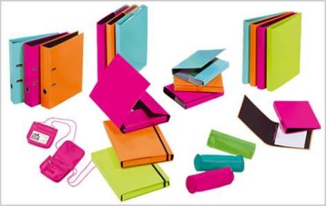 Heftbox A5 Trend Colours mit flexiblem PP Seiten-