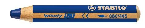 Farbstift Stabilo-Woody 3in1 880-405 Ultramarin-