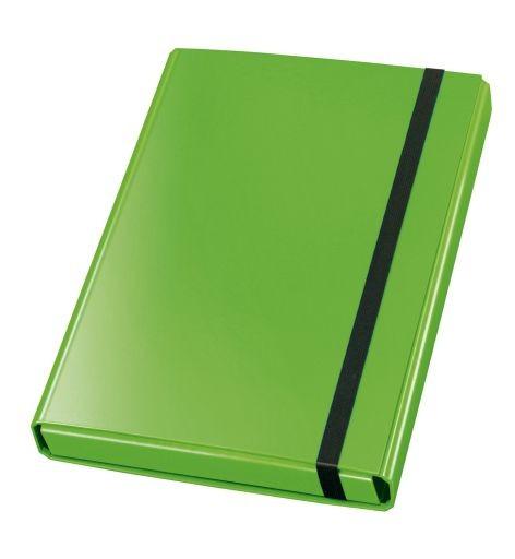 Dokumentenbox, Sammelbox VELOCOLOR®, Karton, A4, 230 x 320 x 40 mm, 40 mm, grün