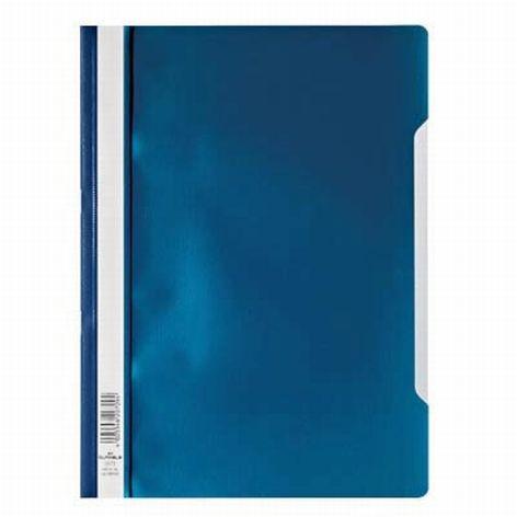 Sichthefter PP A4 dunkelblau